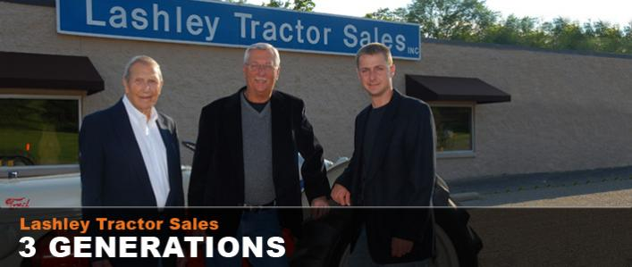 Three Generations of Lashley Tractor Sales