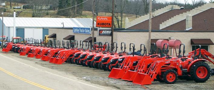 Full Line Kubota Dealership